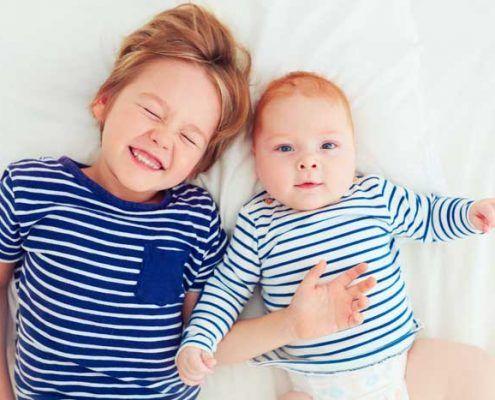 niños pequeños