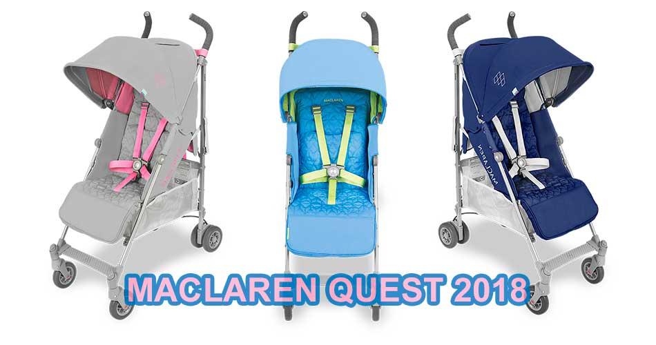 sillita de paseo Maclaren Quest 2018