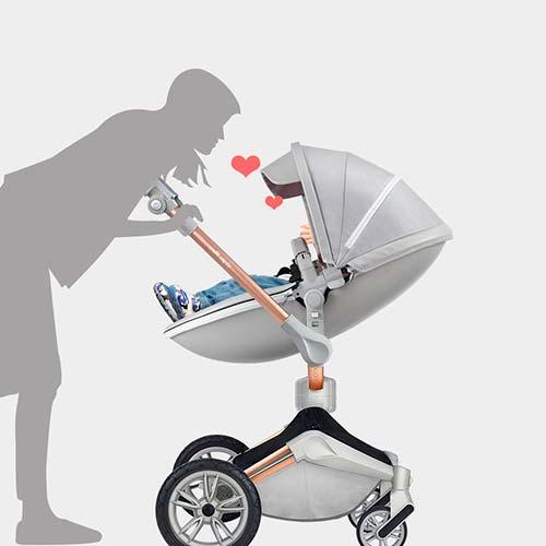 hotmom-360 extra de comodidad para el bebé y para ti